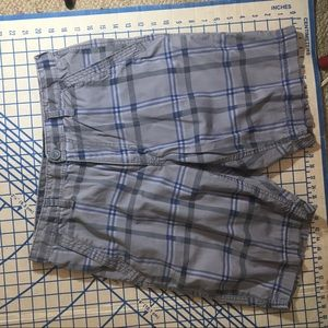 American rag size 32 printed plaid shirts slim fit